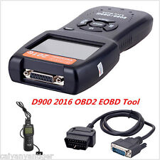 2016 Universal Car Fault Code Reader Scan OBD2 EOBD Scanner D900 Diagnostic Tool