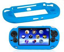 Blu Morbida in Silicone Skin Protector Cover Shell Per Sony PS Vita Console PSP