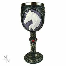 Unicorn Refreshment Goblet 18.5cm High Gothic Chalice Nemesis Now