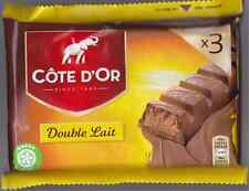 Belgian Chocolate - Cote d'or - 3 Chocolate Bars - Double Lait - Double Milk