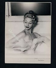 PRETTY NUDE GIRL'S FOAM BATH / NACKT IN BADEWANNE * Vintage 50s Photo by SEUFERT
