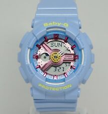 New Casio Display Model BA110CA-2A Baby-G Neo Pastel Blue Ladies Watch