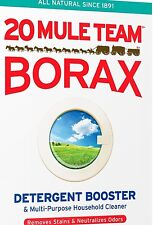 - 1 Cup -  20 MULE TEAM BORAX NATURAL LAUNDRY BOOSTER Sodium Tetraborate