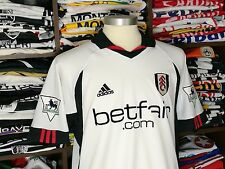 FULHAM FC home 2002/03 shirt - SAHA #20 - France-Everton-Man Utd-Metz-Jersey (M)