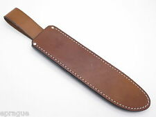 BENCHMADE USA LEATHER HUNTING KNIFE SHEATH for 154BK JUNGLE BOWIE MACHETE (70A)