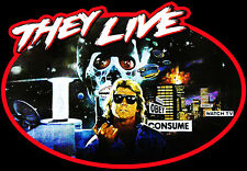 80's Sci-Fi Cult Classic They Live Poster Art quote custom tee AnySize AnyColor