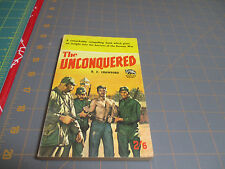 BRITISH BADGER BOOK  W.W SERIES #113  THE UNCONQUERED BY R.E. CRAWFORD   KOREAN