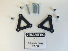 Kamtec Wishbone Brace protectores 1:12 Banger Hot Rod salón Mini Black £2,50