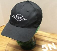 JETSEAL BLACK ADJUSTABLE HAT LUBRICANT PAINT PROTECTION VERY GOOD CONDITION