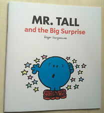 New Mr Men & Little Miss Book - Mr Tall and the Big Surprise - Paperback 23x21cm