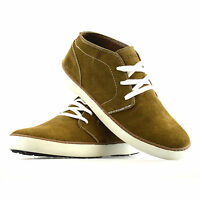 Mens Hi Tec Leather Suede Casual Desert Walking Trainers Ankle Boots Shoes Size