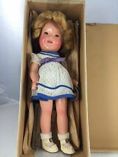 "1930s 11"" Ideal Composition Shirley Temple In Original Box"