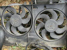 Saab 9-5 1999-2009 dual cooling fan radiator used 2000 2001 2002 2003 2004 2005