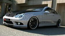 FRONT SPLITTER (TEXTURED) FOR MERCEDES CLK W209 (AMG) FACELIFT 2006-09