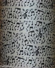 "5 Yds 7/8"" MUSICAL NOTES MUSIC BAND ORCHESTRA GROSGRAIN Ribbon 4 HAIRBOW BOW"