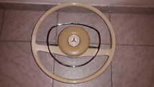 Mercedes w108 w114 w115 steering wheel w113 sl white ivory 280 250 300 se w108