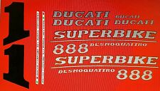DUCATI 888 MODEL SP5 PAINTWORK DECAL KIT