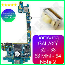 Tasto POWER On/Off 4mm Pulsante Accensione Samsung GALAXY S2 S3 S3 M S4 Note 2