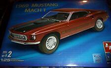 AMT 1969 Mustang Mach 1 1/25 Model Car Mountain FS