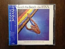 The Fixx Reach The Beach CD Japan Sticker Obi 1st Press 32XP-123