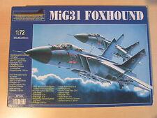 TOP!!! BELMONTE DF320 MiG31 Foxhound 1:72 in OVP!!!