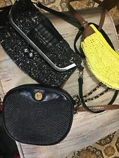 3 Piece Purse Lot Mixed Brands