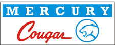 C036 Mercury Cougar muscle sports classic car truck banner garage signs