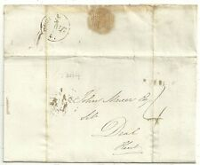 * 1840 JAN 4th LONDON TO JOHN MERCER AT DEAL KENT - UNIFORM 4d POST PERIOD