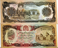 AFGHANISTAN billet neuf 1000 AFGHANIS periode TALIBAN pick 61c Mosque 1991