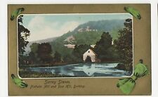 Surrey Scenes, Pixholm Mill & Box Hill Dorking Postcard, A696