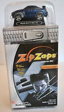 Zip Zaps Micro Remote Control Blue Mazda RX-8 X-Men Car - Collectible - NEW!