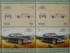 1963 BUICK RIVIERA Car 50-Stamp Sheet / Auto 100 Leaders of the World