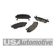 REAR BRAKE PADS 2000 TO 2006 CHEVROLET SILVERADO SUBURBAN & TAHOE