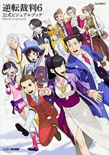Gyakuten Saiban 6 Official Visual Book Game Ace Attorney From JAPAN New