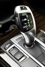2x BMW M tec automatik schaltknauf aufkleber logo emblem F20 F30 F10 E70 E71 E60