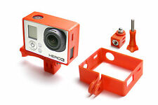 Frame Mount Tripod Mount für GoPro Go Pro HD HERO 3 Black Zubehör Adapter Red