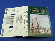 ST. PAUL'S CATHEDRAL CHOIR - A Special Christmas - GRADES EXCELLENT