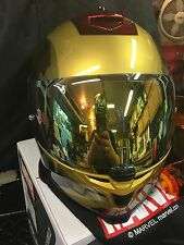 HJC IS-17 IRON MAN MARVEL HELMET  GOLD MIRRORED SHIELD ONLY HELMET NOT INCLUDED