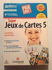 Super Jeux De Cartes 5 PC Complete