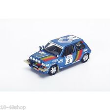 SPARK S3860 Renault 5 GT Turbo n°4 3rd Ivory Coast Rally 1990 Oreille 1/43