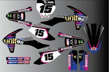 KTM SX SXF 85 125 250 450 2016 FULL GRAPHICS KIT-STICKER KIT-DECALS-MOTOCROSS