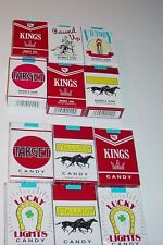 """WORLD'S KING SIZE""""CANDY & BUBBLE GUM CIGARETTES""""   24 PACKS(12 Of Each)"""