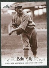 2016 Leaf Babe Ruth Collection #62 Lifetime ERA for Boston