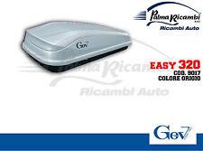 9017 BAULE BOX PORTAPACCHI AUTO GEV EASY 320LT GRIGIO