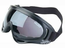 BRAND NEW UV400 PROTECTION DARK LENS MOTORCYCLE JET SKI GOGGLES SUNGLASSES