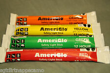 Glow Sticks 12 Hour/ Hunting/ Outdoors/ Airsoft/ Paintball/ 4 Pack