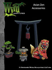 Wyrd Malifaux BNIB ASIAN ZEN BASE ACCESSORIES WYR0045