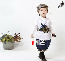 Korean Traditional Hanbok for Baby Boy Birthday Party Korean National Kid Dolbok