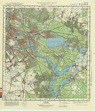 Russian Soviet Military Topographic Maps - BERLIN(south-east), 1:50 000, ed.1978