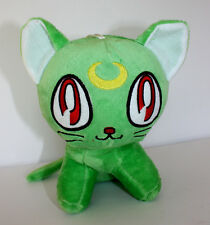 Sailor Moon: 8-inch Luna Cat Plush Green